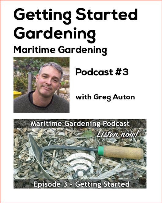 Maritime Gardening Podcast Thumnail