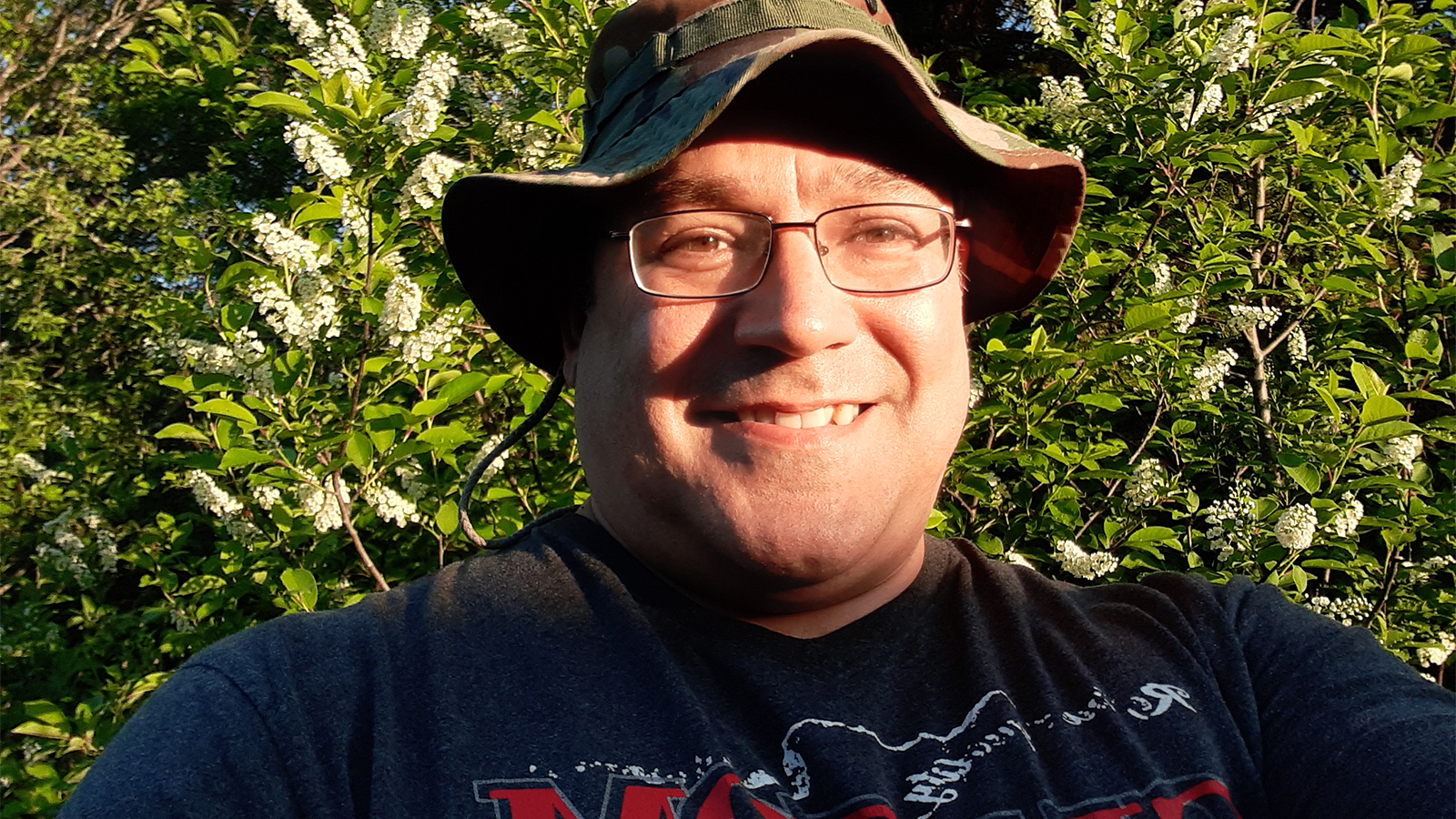 Mario Doiron selfie
